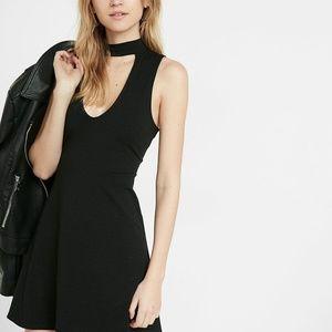Black Express Skater Dress NWOT